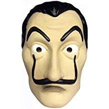 Masque de dali casa de papel